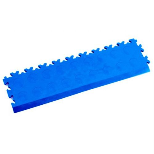 MotoLock Interlocking Tile Edging (Electric Blue CoinTop)